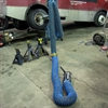 Armored car diesel vehicle exhaust gas removal